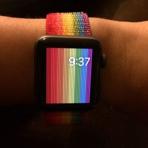 PRIDE Apple Watch band